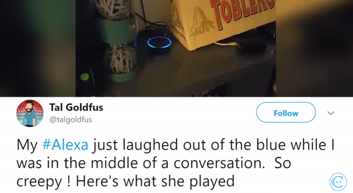 So What Was Up With Alexa's Creepy Laughter Anyway?