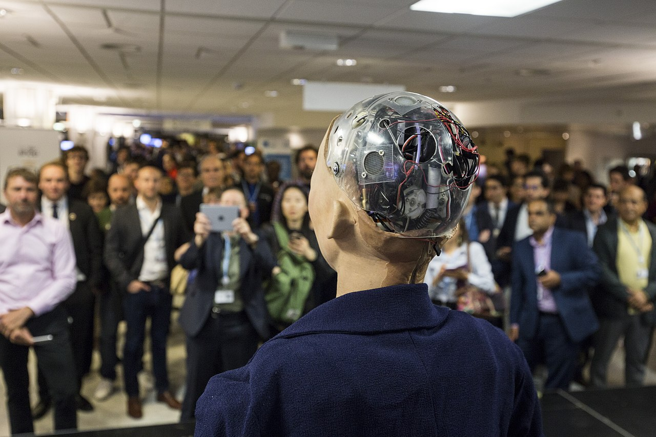 Sophia the Robot, More Marketing Machine Than AI Marvel